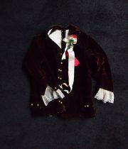 貴族の少年のジャケット