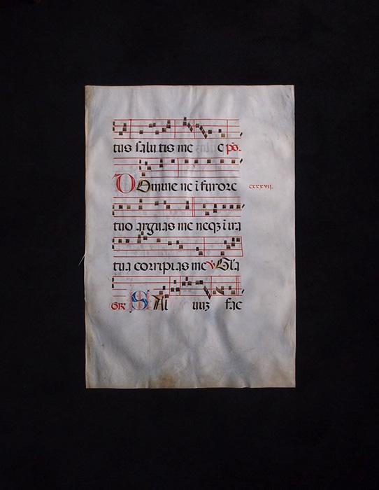 古いネウマ譜