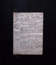 1828年の公文書