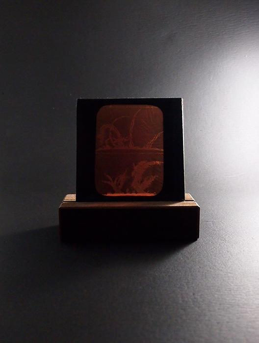 Verre Photographiques  Flare solaire