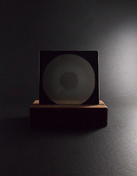 Verre Photographiques Éclipse solaire