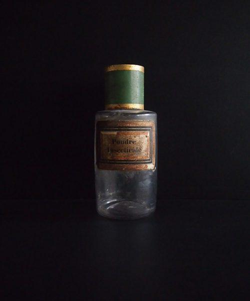 古い薬瓶 Poudre Insecticide