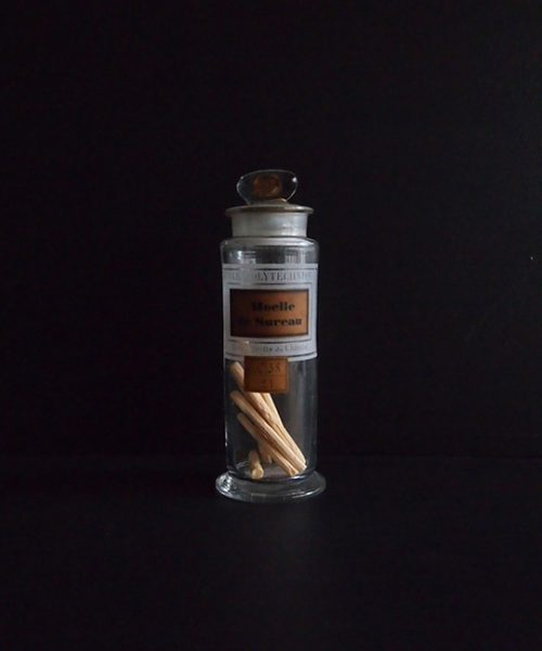 ECOLE POLYTECHIQUE のガラス瓶 F