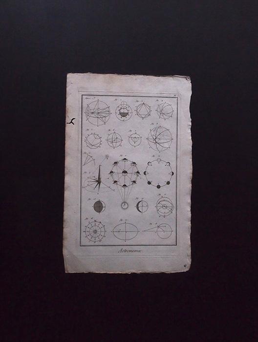 L'Encyclopédie , Astronomie 5