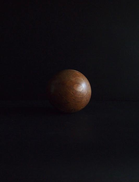 木製立体模型 球