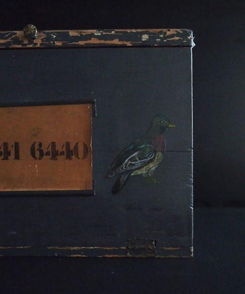 レース鳩の移動用木箱