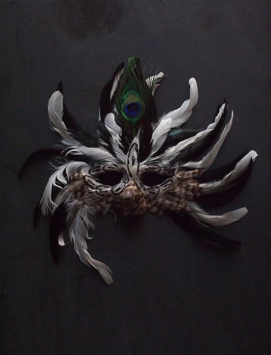 舞踏家のマスク  B