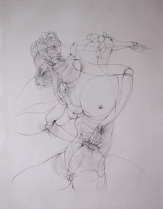Hans Bellmer 銅版画 『 Inceste 』