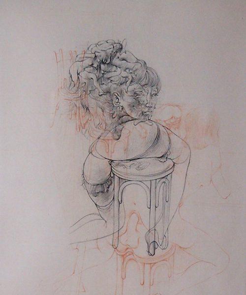 Hans Bellmer 銅版画『 La Philosophie dans le boudoir 』