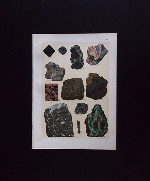 鉱物図版 13 Nickelerze