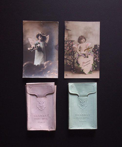 アンヴェンテール 天使のエンボス・ボックス&カード セット