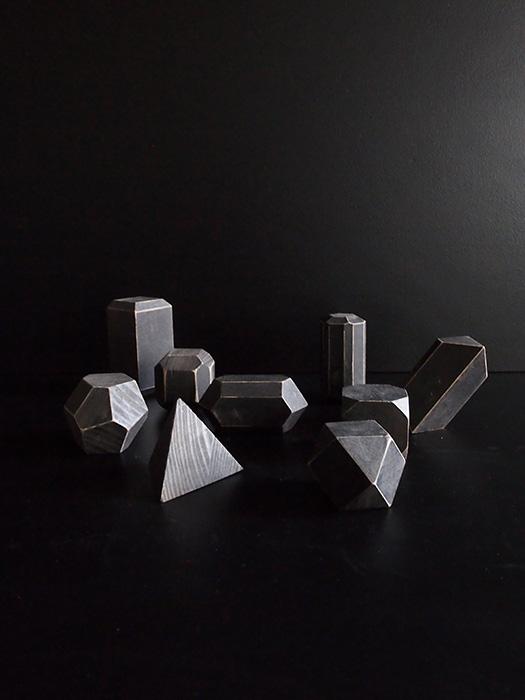水晶の結晶模型