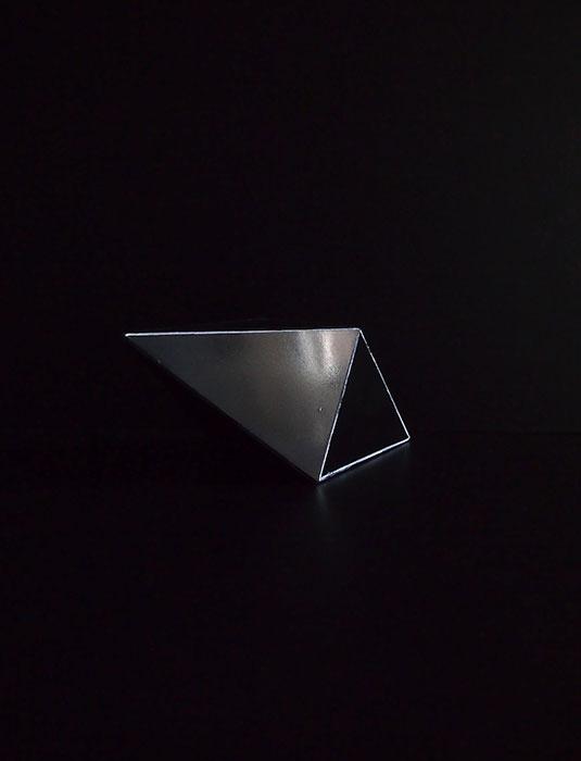 結晶模型 8面体(正方錐)