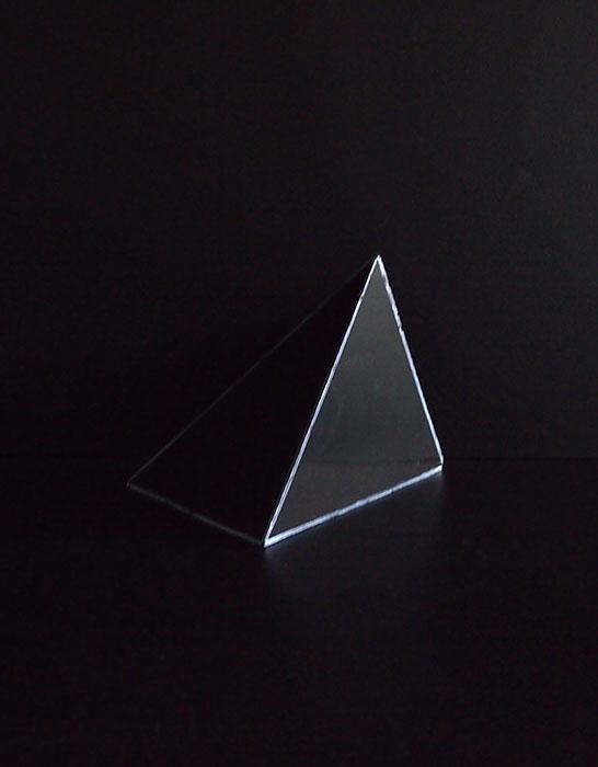 結晶模型 三角錐