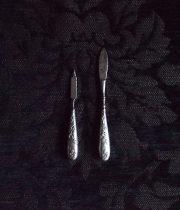 ヤドリギ柄のネイル ケア道具・2点セット
