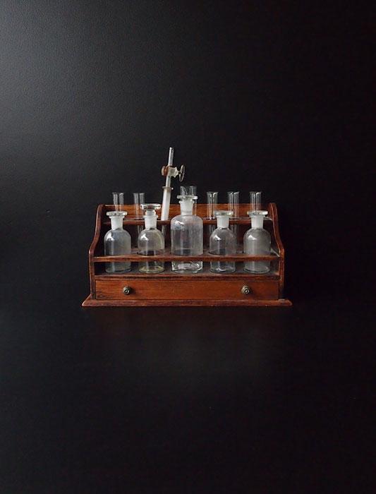 薬瓶・実験道具セット プレゼン・トワール付き