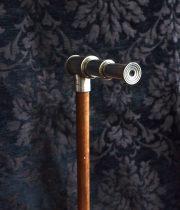 望遠鏡付き杖