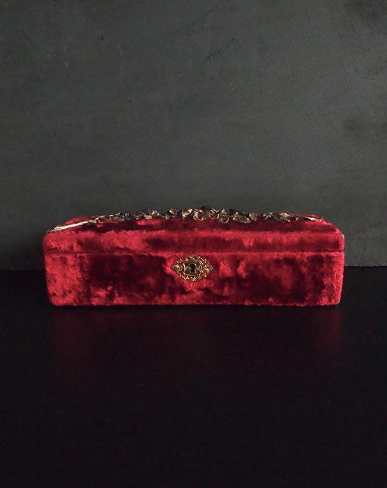 真紅の布ケース