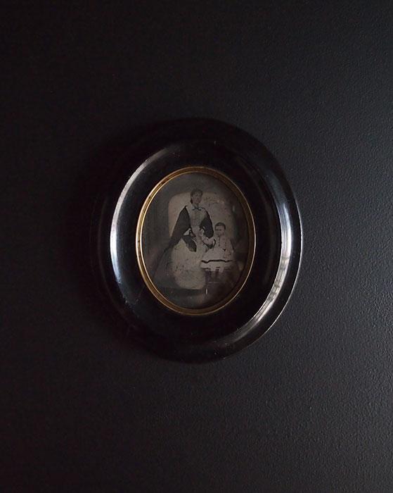 Daguerréotype 8  親子の肖像