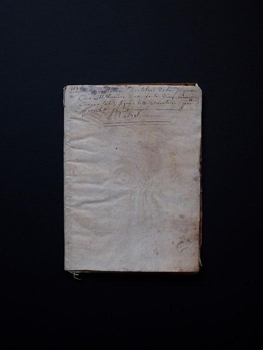 1638年のノート