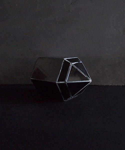鉱物の結晶模型  D