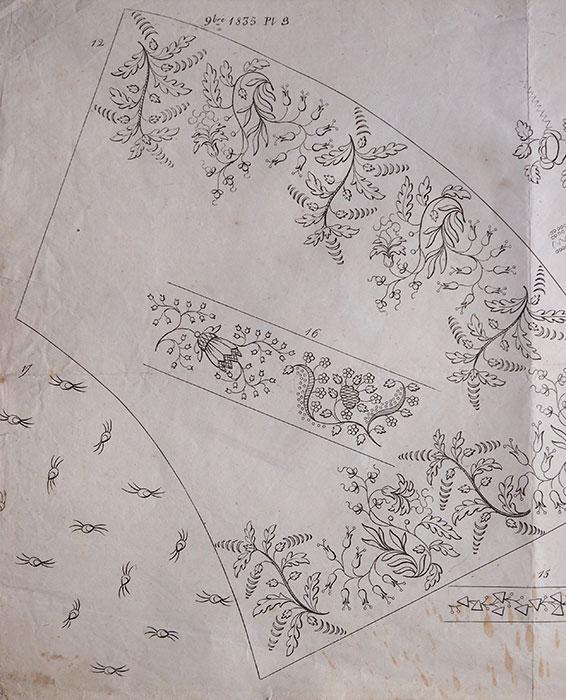 刺繍図案 M