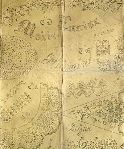 刺繍図案 I