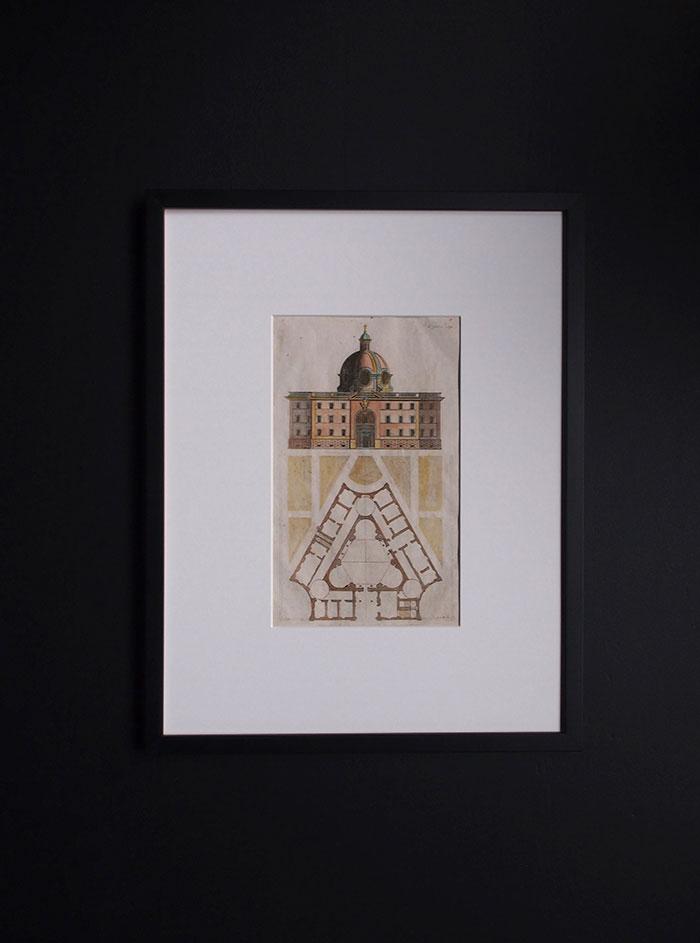 アンドレア・ポッツォ 建築の図版 D