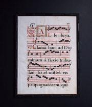 18世紀のネウマ譜 2