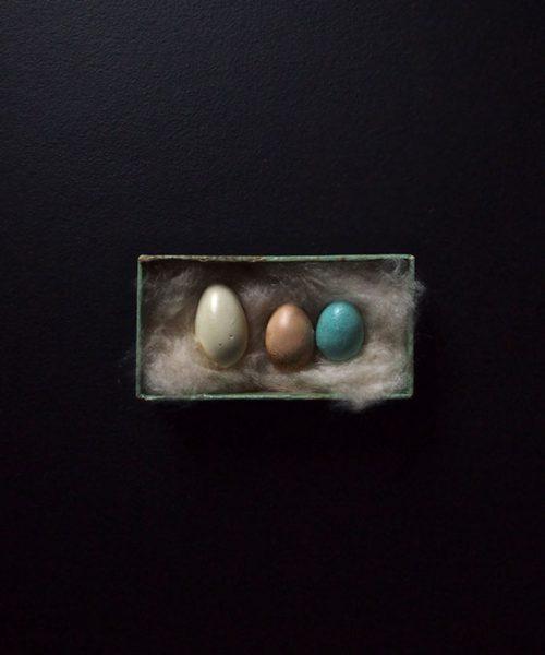 擬似卵 3個