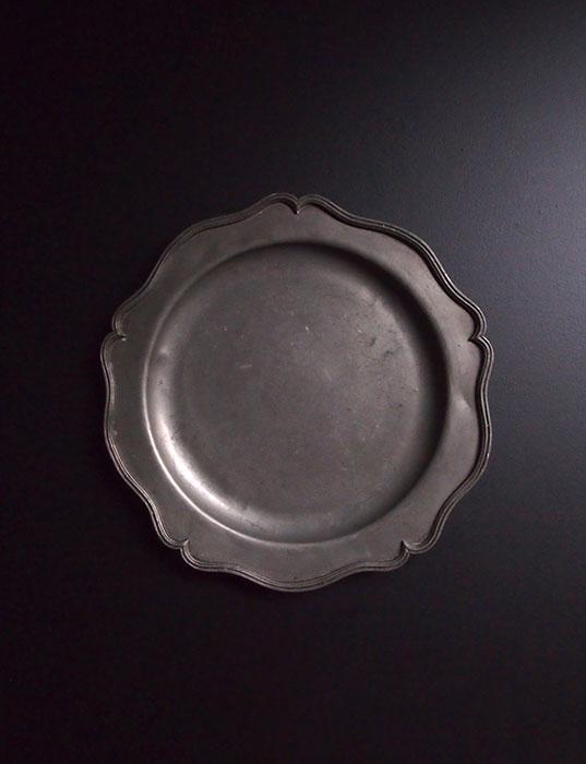エタンの花リム皿