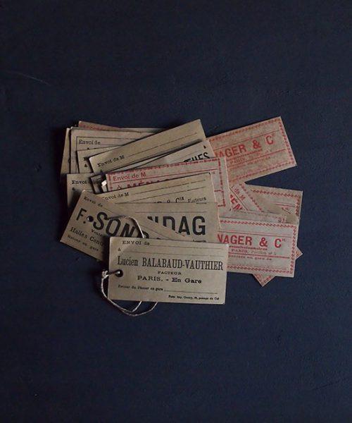レ・アール パリ中央市場のラベル25枚