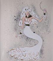 金子國義 リトグラフ 『 La Mermaid 』