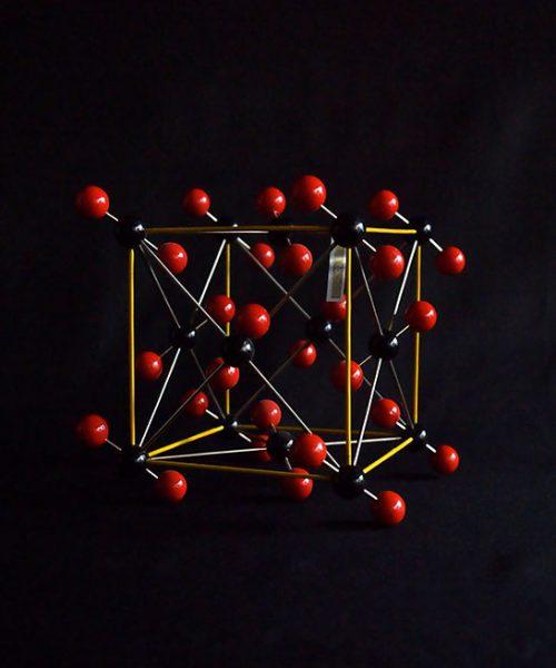 分子模型 CO2