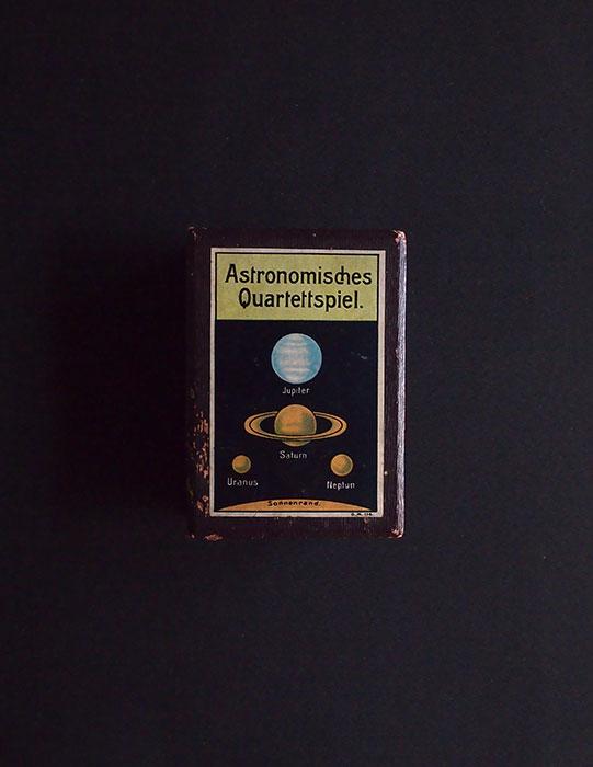 Astronomisches Quartettspiel