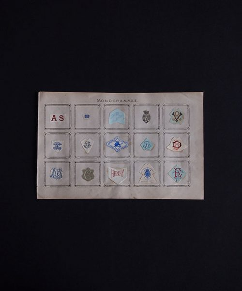 Monogrammes Collection 29