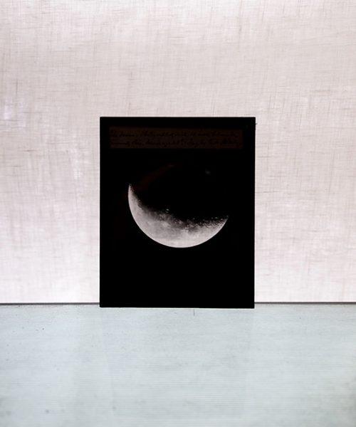 """天文ガラス・スライド """"The Moon"""""""