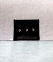 """天文ガラス・スライド """"Partial Lunar Eclipse"""""""