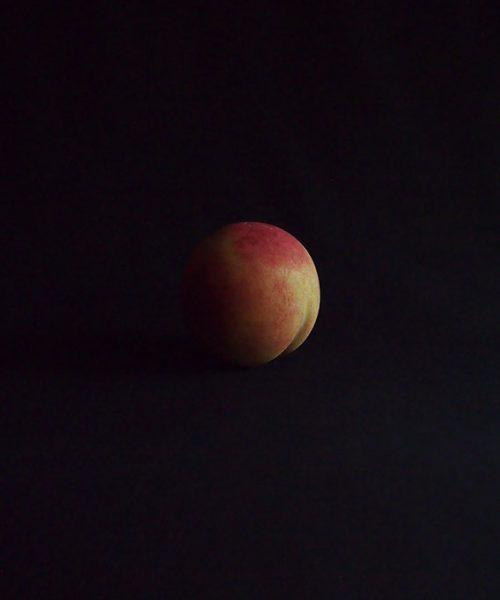 大理石の擬似果物  Pêche