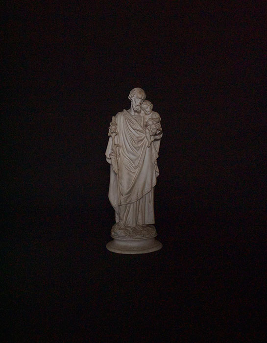 幼子イエスと聖ヨセフ像