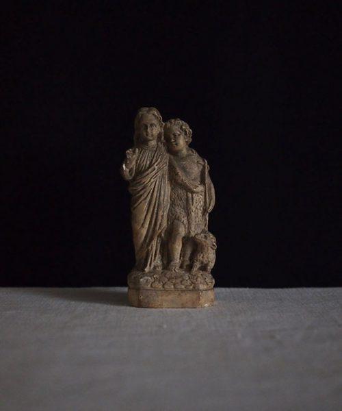 幼子イエスと洗礼者ヨハネ像