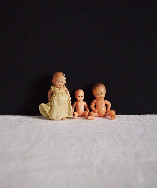 キュートな赤ちゃんドール 3体