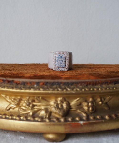 "Arii Momoyo Pottery Ring ""  Faciem """