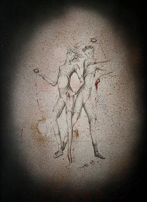 11周年記念 金子國義 リトグラフ『 アリスの夢 』2