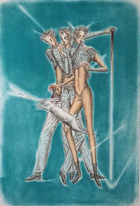 11周年記念 金子國義 リトグラフ『 アリスの夢 』3