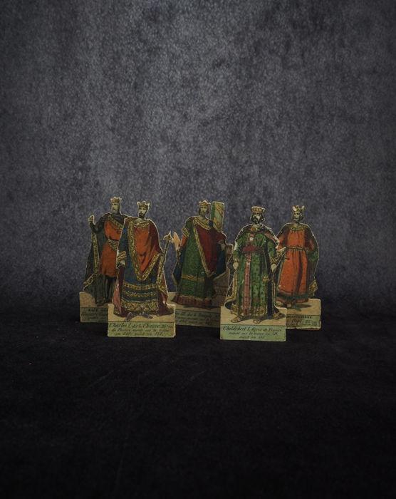 フランスの王様が描かれた駒