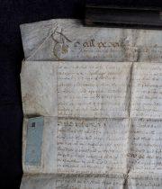 羊皮紙に描かれた古文書 18世紀