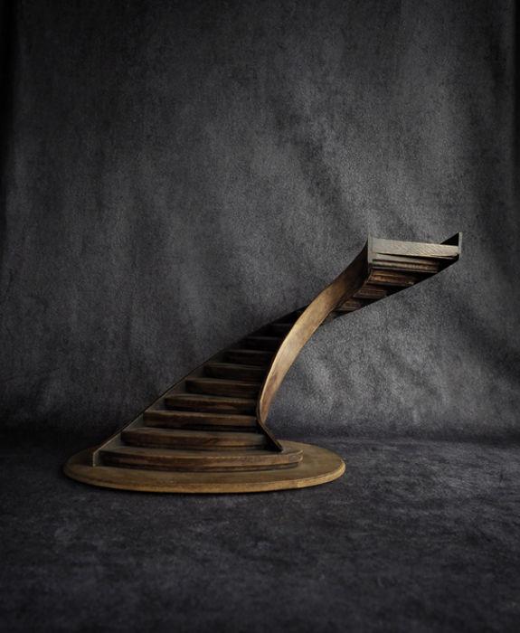 階段模型 A